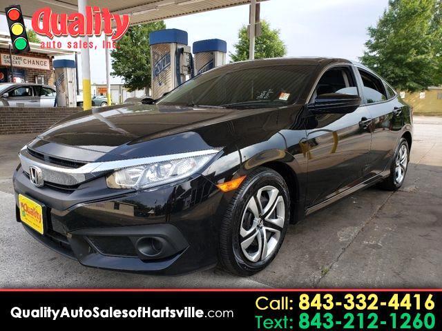 2018 Honda Civic LX Honda Sensing Sedan CVT