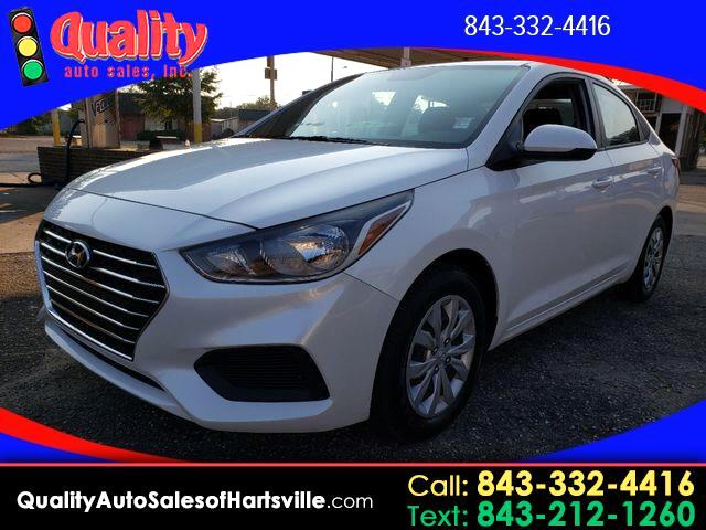 2019 Hyundai Accent SE 4-Door 6A