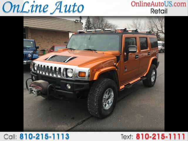2006 HUMMER H2 AWD/WINCH/SUNROOF/CB RADIO