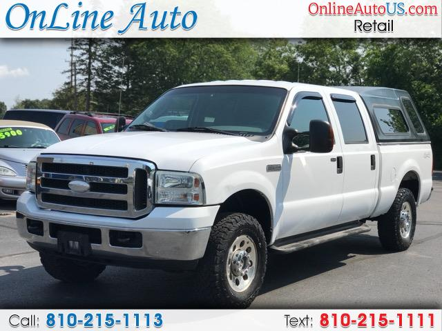 2005 Ford F-250 SD SUPER DUTY 4WD CREW CAB