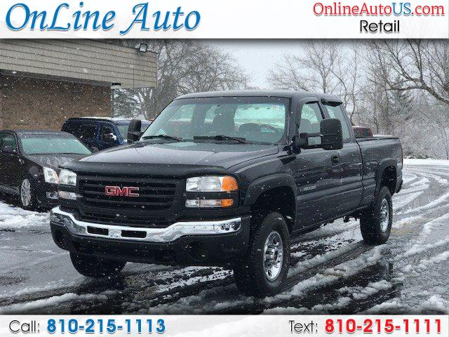 2005 GMC Sierra 2500HD 2500 HEAVY DUTY 4WHEEL DR