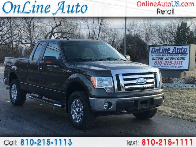 2009 Ford F-150 SUPER CAB 4WD STEP ASSIST