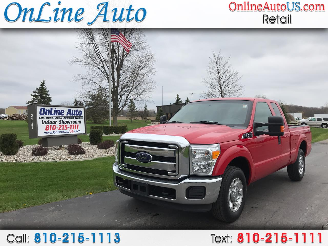 2014 Ford F-250 SUPER DUTY EXTENDED CAB 2WD
