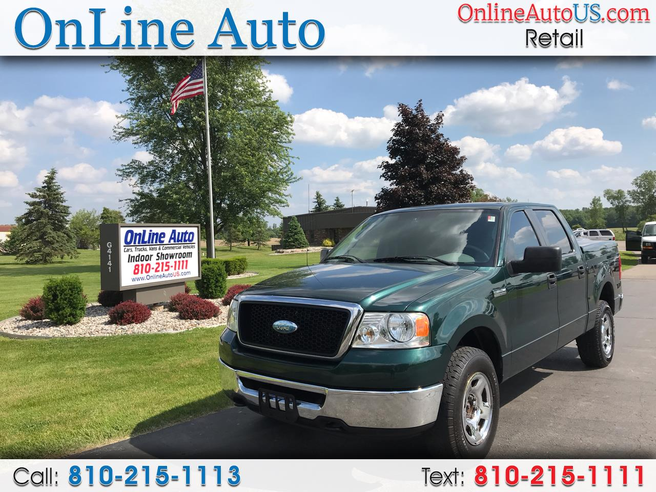 2008 Ford F-150 SUPERCREW 4WD PICK UP TRUCK