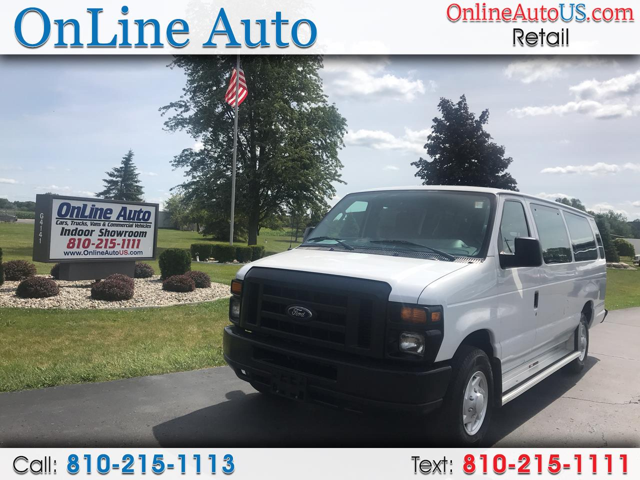 2014 Ford Econoline Wagon E350 SUPER DUTY WAGON