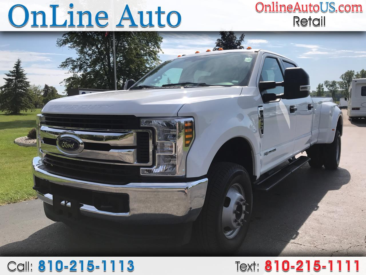 2019 Ford Super Duty F-350 DRW DIESEL CREW CAB 4WD DUALLY