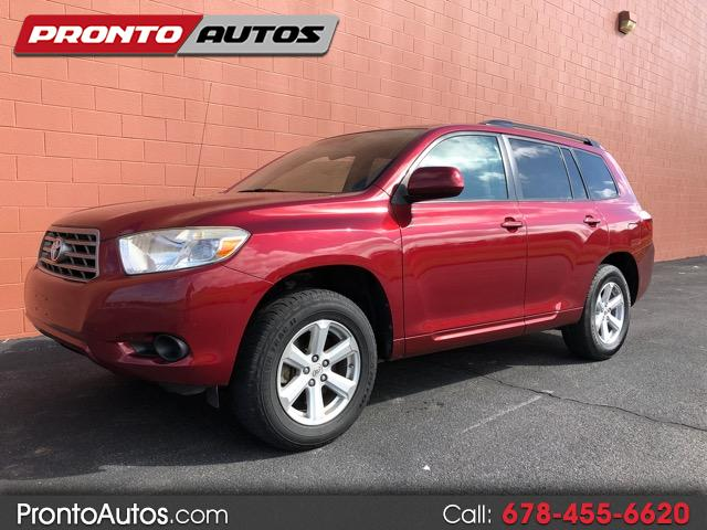 2008 Toyota Highlander Base 2WD