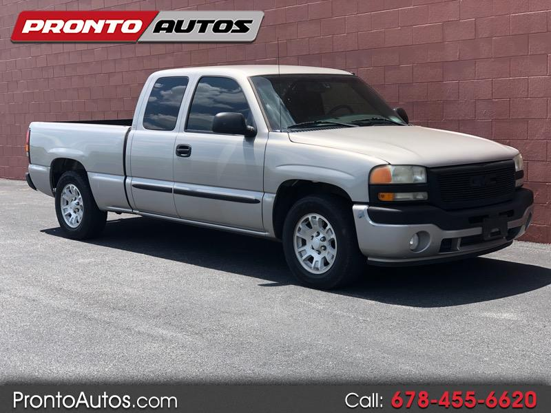 Used 2006 Gmc Sierra 1500 Sle1 Ext Cab 2wd For Sale In Cumming Ga