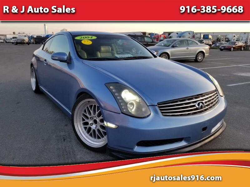 2004 Infiniti G35 Coupe with Leather