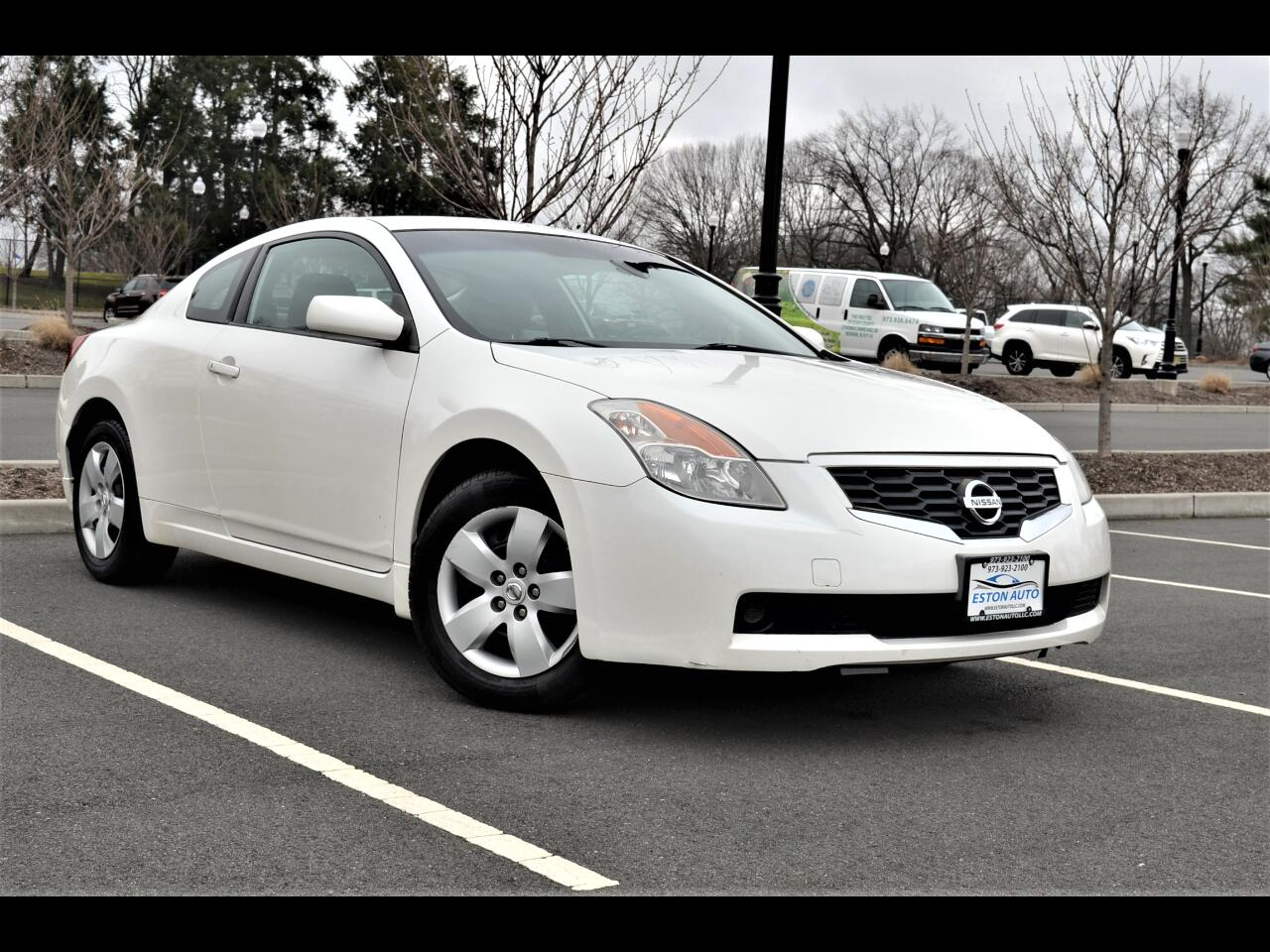 Nissan Altima 2dr Cpe I4 Man 2.5 S 2008