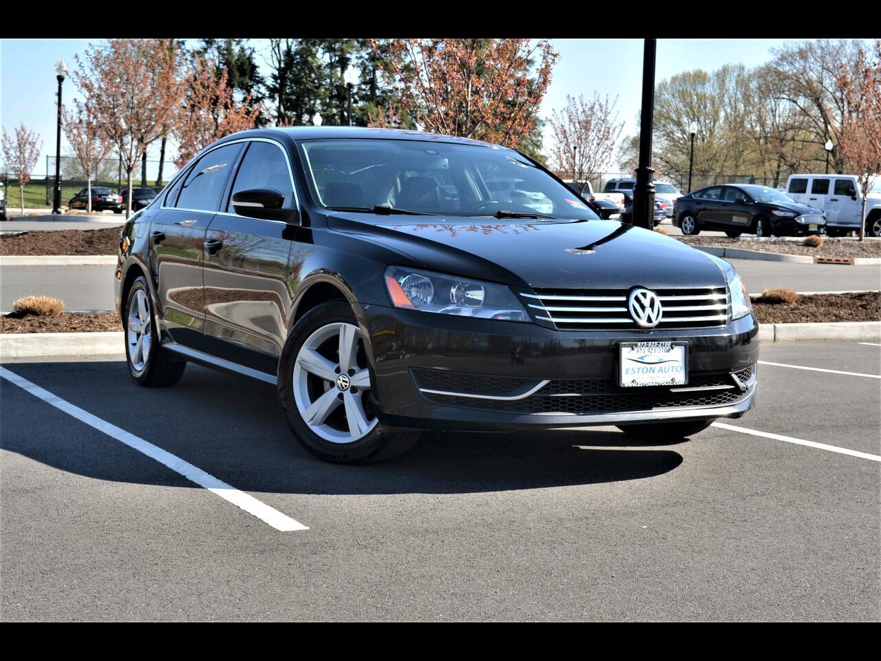 2013 Volkswagen Passat 2.5L SEL Premium
