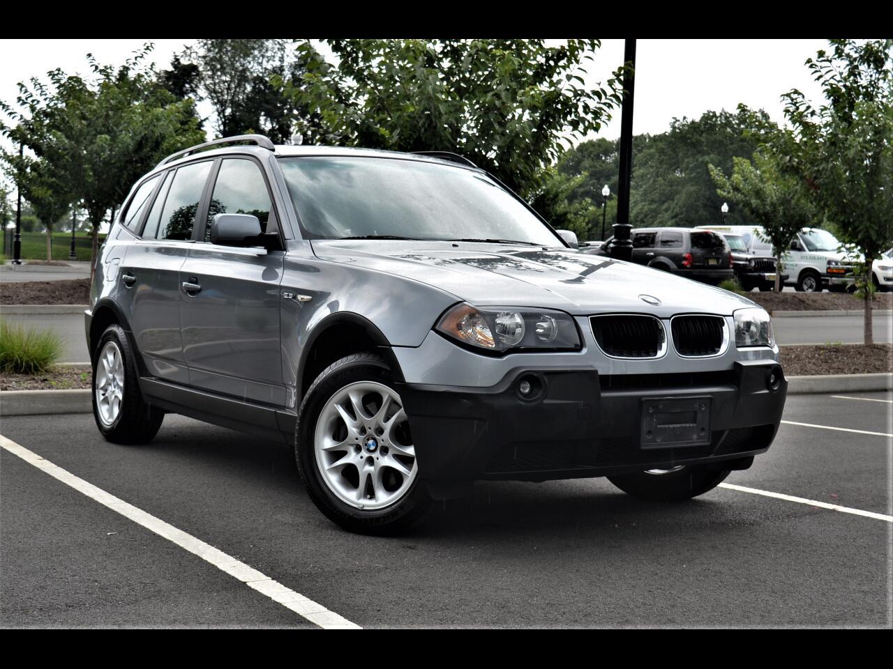 2005 BMW X3 X3 4dr AWD 2.5i