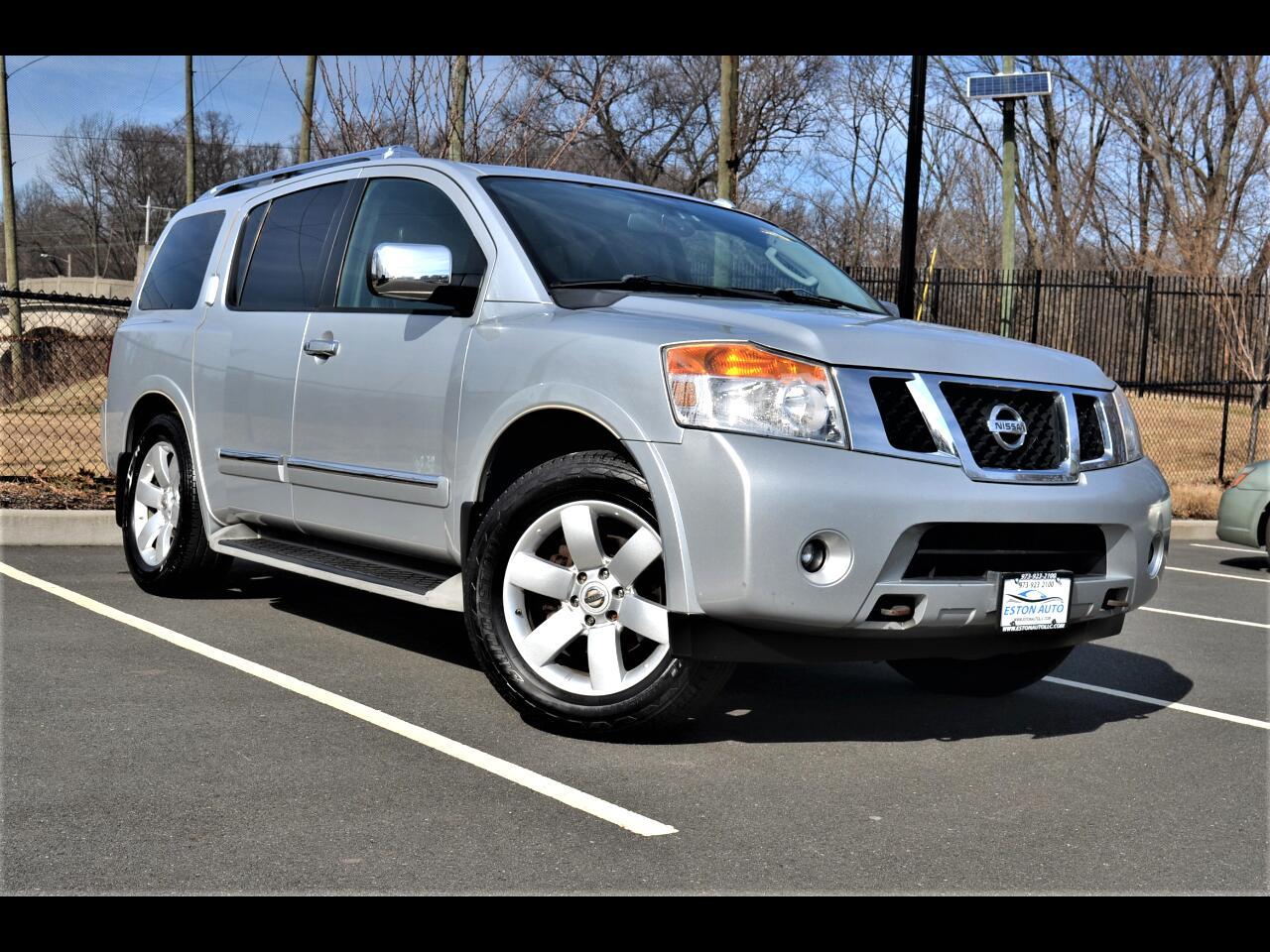 Nissan Armada 4WD 4dr Titanium 2010