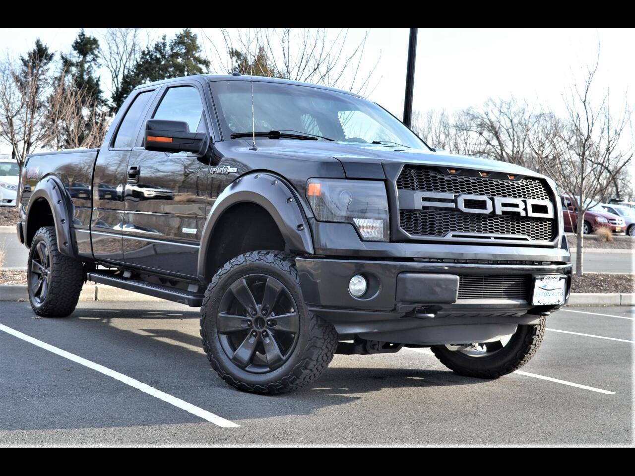 """Ford F-150 4WD SuperCab 145"""" FX4 2013"""