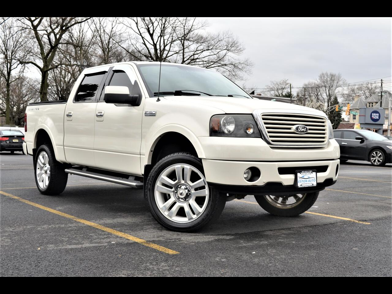 "Ford F-150 4WD SuperCrew 145"" Limited 2008"