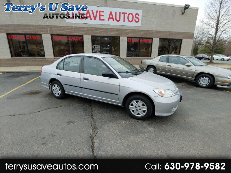 2004 Honda Civic VP Sedan AT