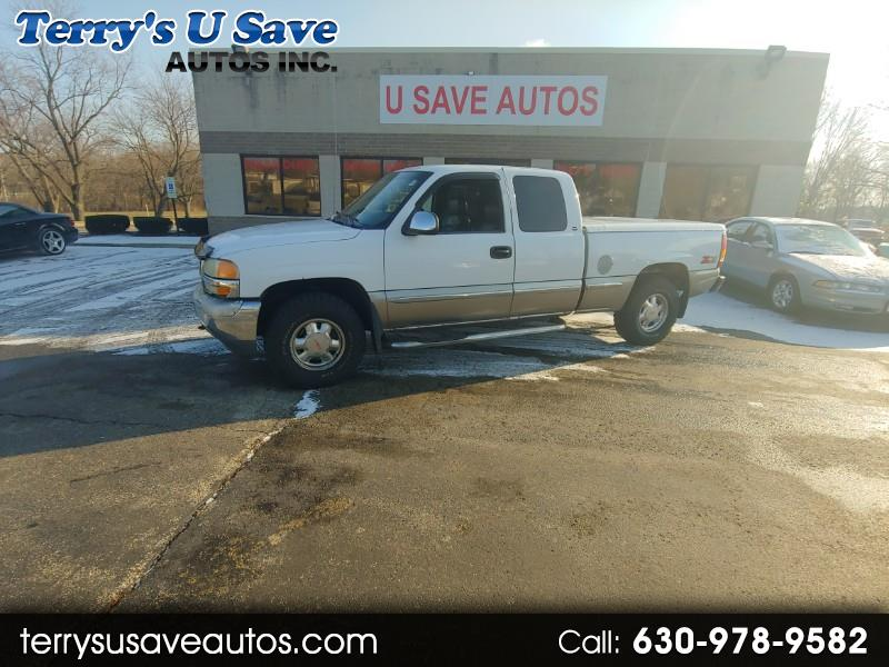 GMC Sierra 1500 SLE Ext. Cab Short Bed 4WD 1999