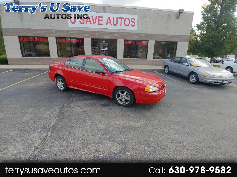 Pontiac Grand Am SE2 sedan 2004