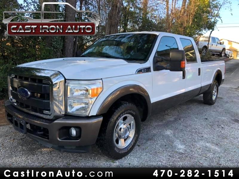 2011 Ford F-250 SD XLT Crew Cab Long Bed 2WD
