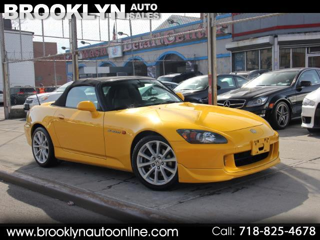 2007 Honda S2000 Roadster 28K Miles All Vins Intact Rio Yellow Pear