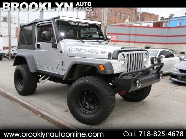 2005 Jeep Wrangler X Lifted Manual
