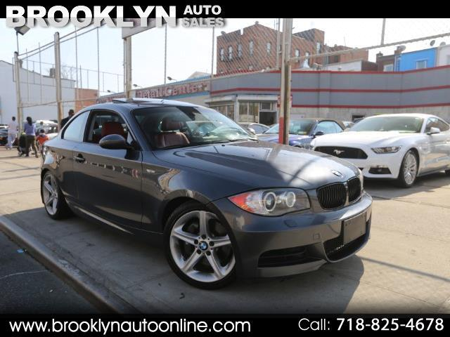 2008 BMW 1-Series 135i Coupe N54 6 Speed Manual Red Interior