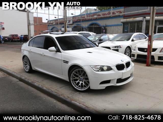 2011 BMW M3 Sedan E90 White on Red