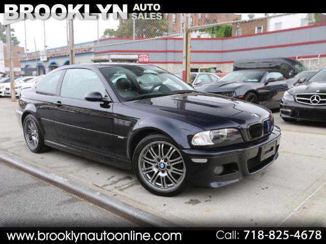 2006 BMW M3 Coupe 6 Speed Manual Carbon Black on Black