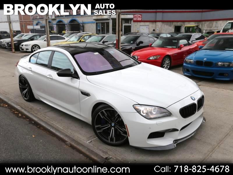 2014 BMW M6 Gran Coupe White on Red