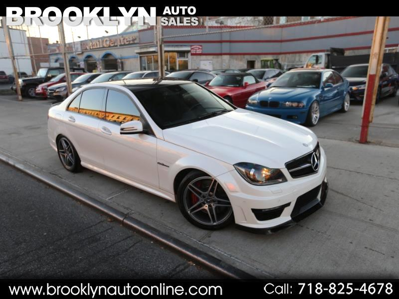 2012 Mercedes-Benz C-Class C63 AMG Sport Sedan P31 AMG DEVELOPMENT PACKAGE AN