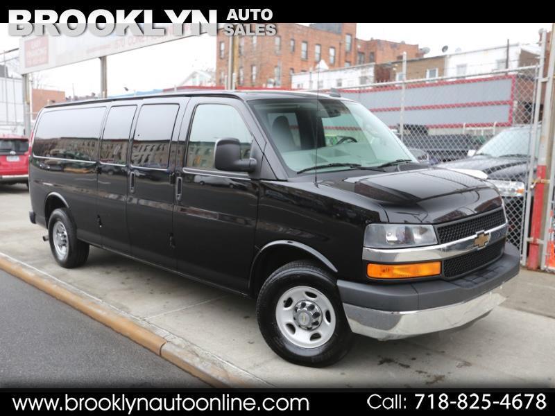 2016 Chevrolet Express LT 3500 Extended 15 Passenger Van