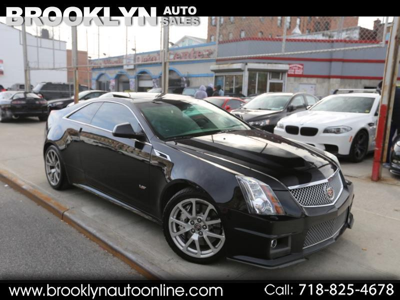 2012 Cadillac CTS V Coupe 6-Speed Manual