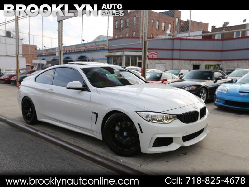 2014 BMW 4-Series 435i xDrive M Sport White on Red FBO Pure Stage 2