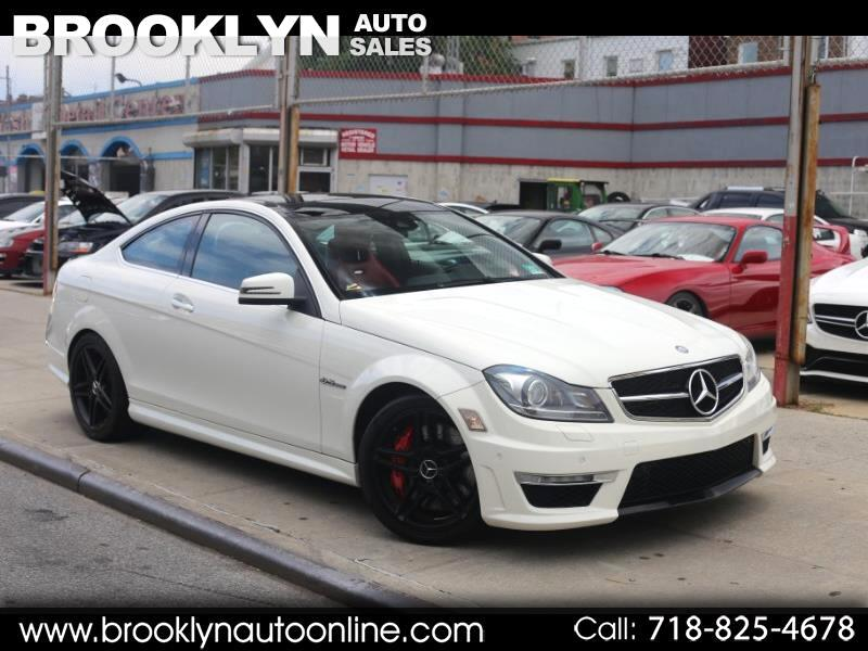 2012 Mercedes-Benz C-Class C63 AMG Coupe P31 Package