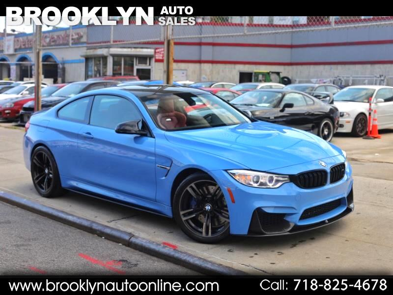 2015 BMW M4 Coupe Yas Marina Blue on Red