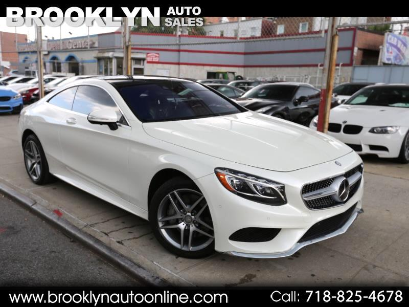 2015 Mercedes-Benz S-Class S550 4MATIC Coupe AMG Package