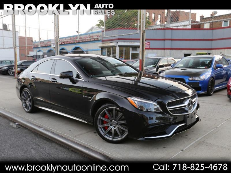 Mercedes-Benz CLS-Class 4dr Sdn CLS 63 AMG S-Model 4MATIC 2015