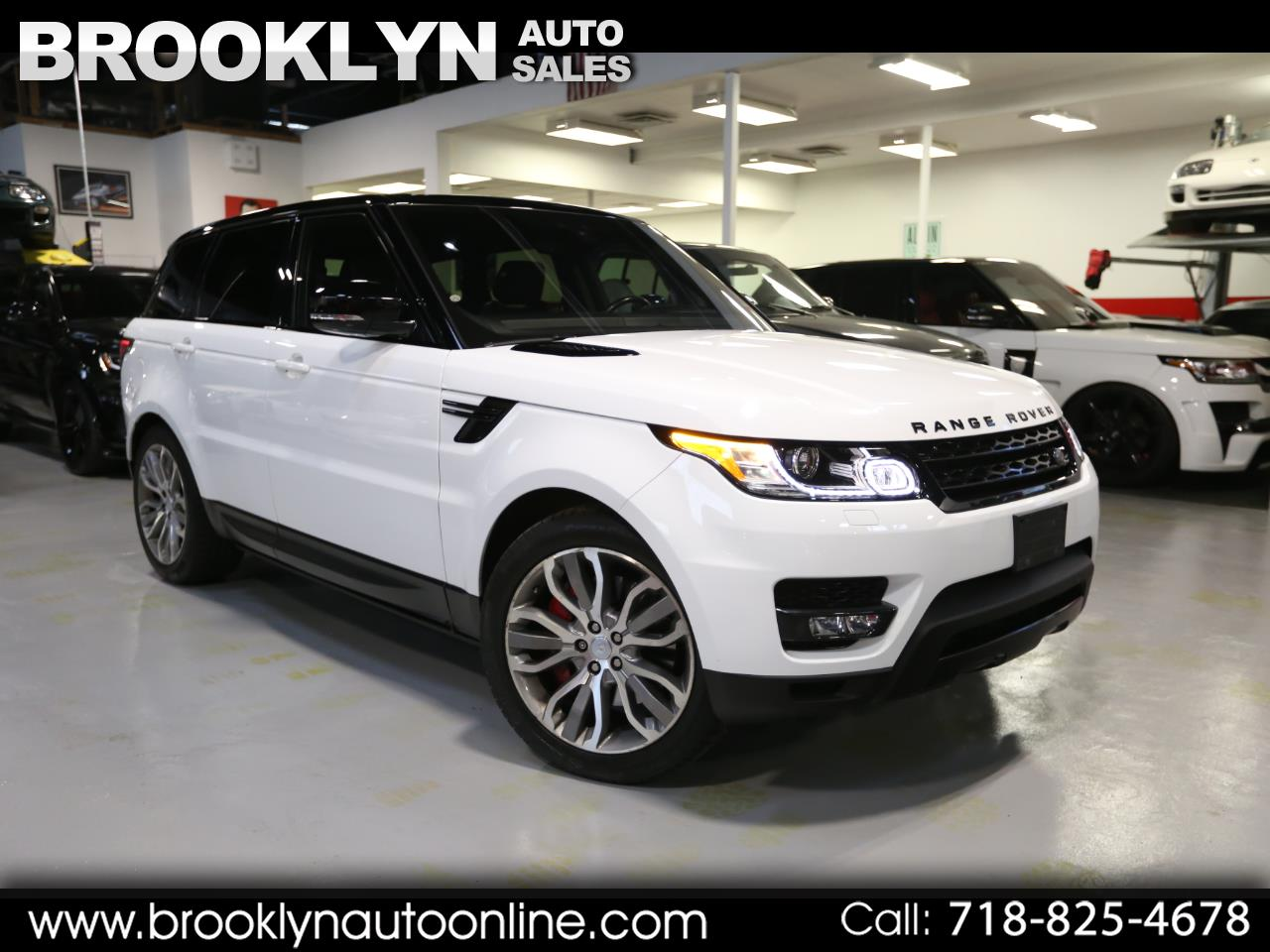 Land Rover Range Rover Sport Supercharged Dynamic 2017