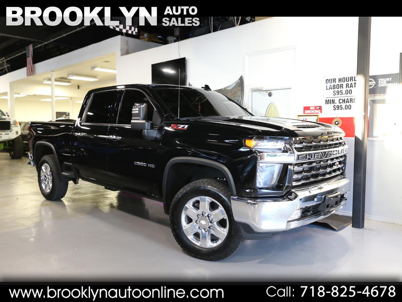 Chevrolet Silverado 2500HD LTZ Crew Cab Short Box 4WD 2020