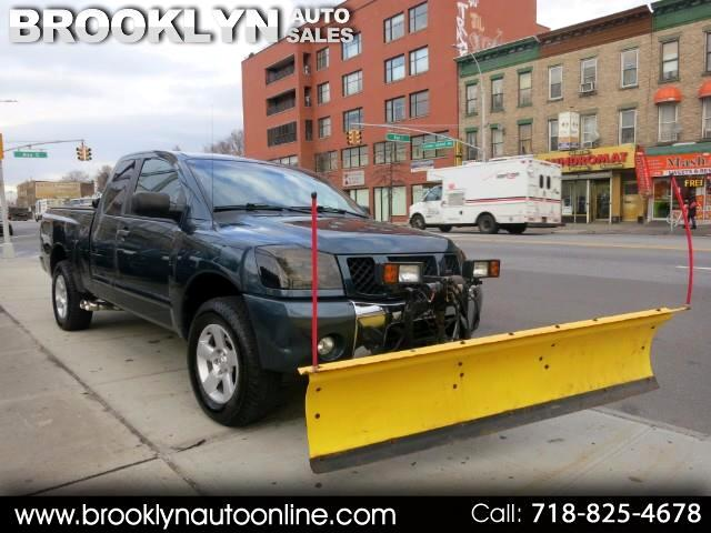 2005 Nissan Titan LE King Cab 4WD SNOW PLOW FISHER PLOW TRUCK