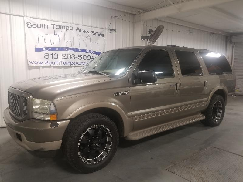 2003 Ford Excursion Eddie Bauer 5.4L 2WD
