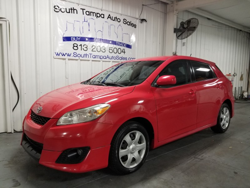 2010 Toyota Matrix Base 4-Speed AT