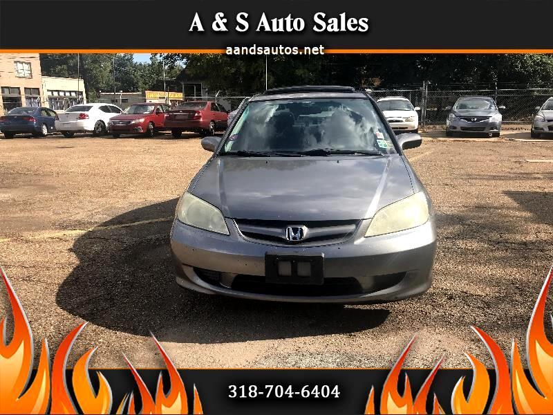 2005 Honda Civic  for sale VIN: 2HGES26795H536773