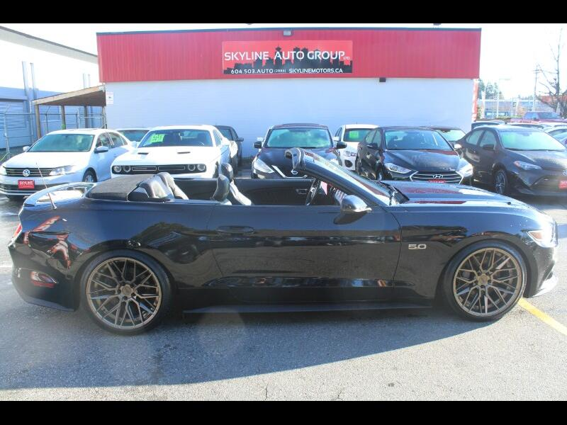 2015 Ford Mustang 2dr Conv GT