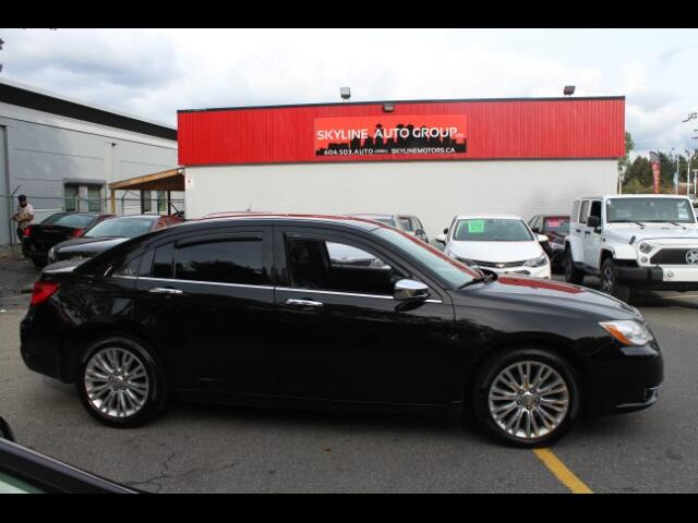 2013 Chrysler 200 Limited|Bluetooth|Leather|Automatic|No Accident
