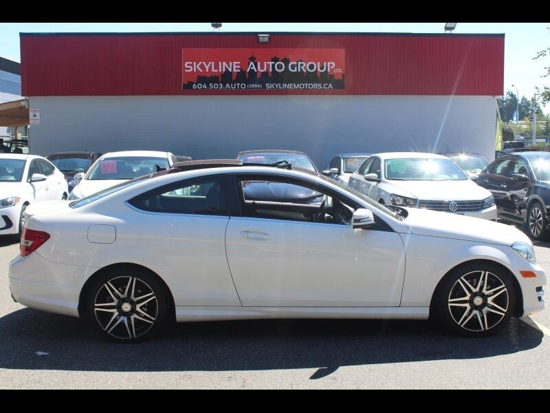 2014 Mercedes-Benz C-Class C350 Coupe 4MATIC|Bluetooth|Backup Cam|Leather