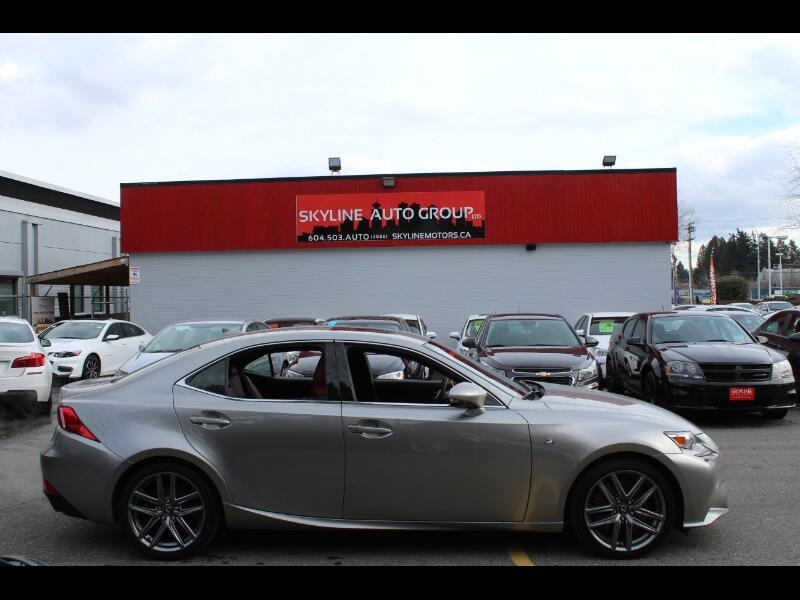 2014 Lexus IS 350AWD |Navigation |Leather
