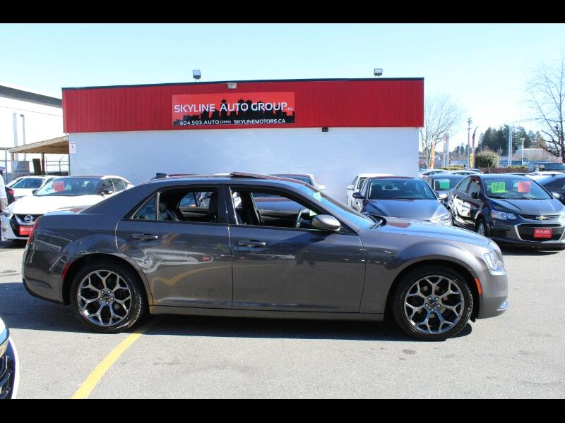 2018 Chrysler 300 S V6|RWD| Backup Cam| No Accident| BC Vehicle