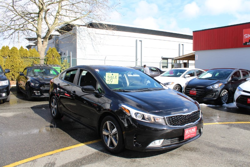 2018 Kia Forte LX 6M| No Accident |Back Up Camera |Easy Loan