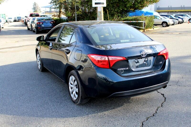 2017 Toyota Corolla LE CVT |Back Up Camera |Quick Loan Approval